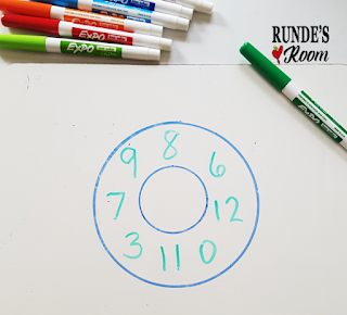 Runde's Room: Donut You Know Math Facts Game