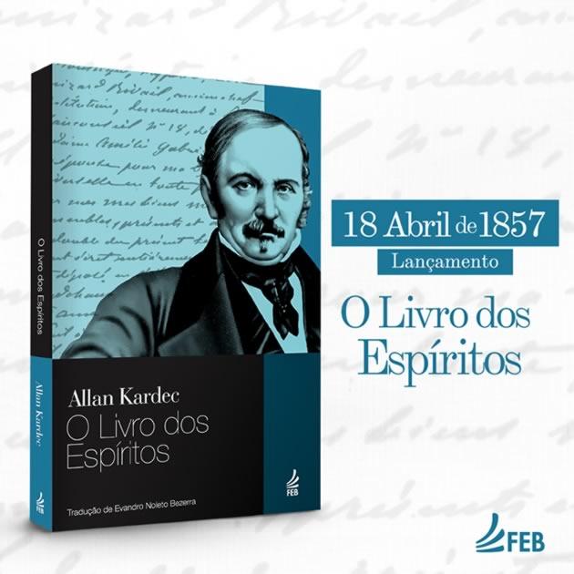 164 anos de publicação de O LIVRO DOS ESPÍRITOS