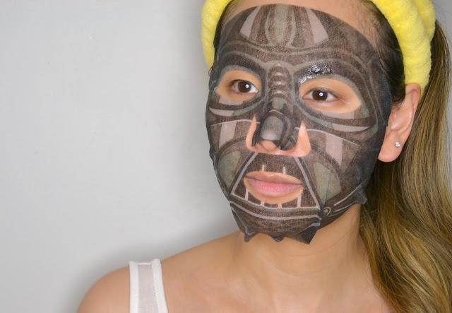 Darth Vader Star Wars Sheet Mask Selfie