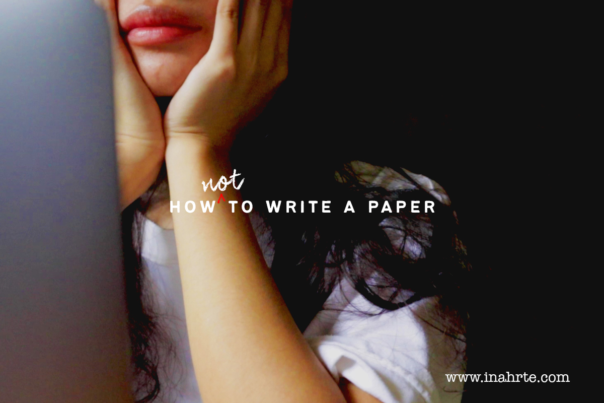 inahrte writing tips how to write