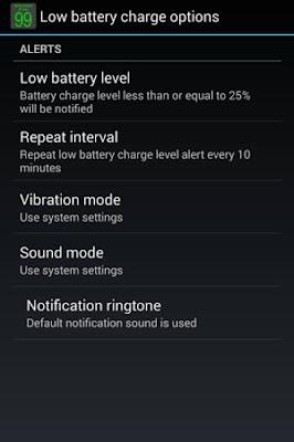 Ubah Notifikasi Baterai Android