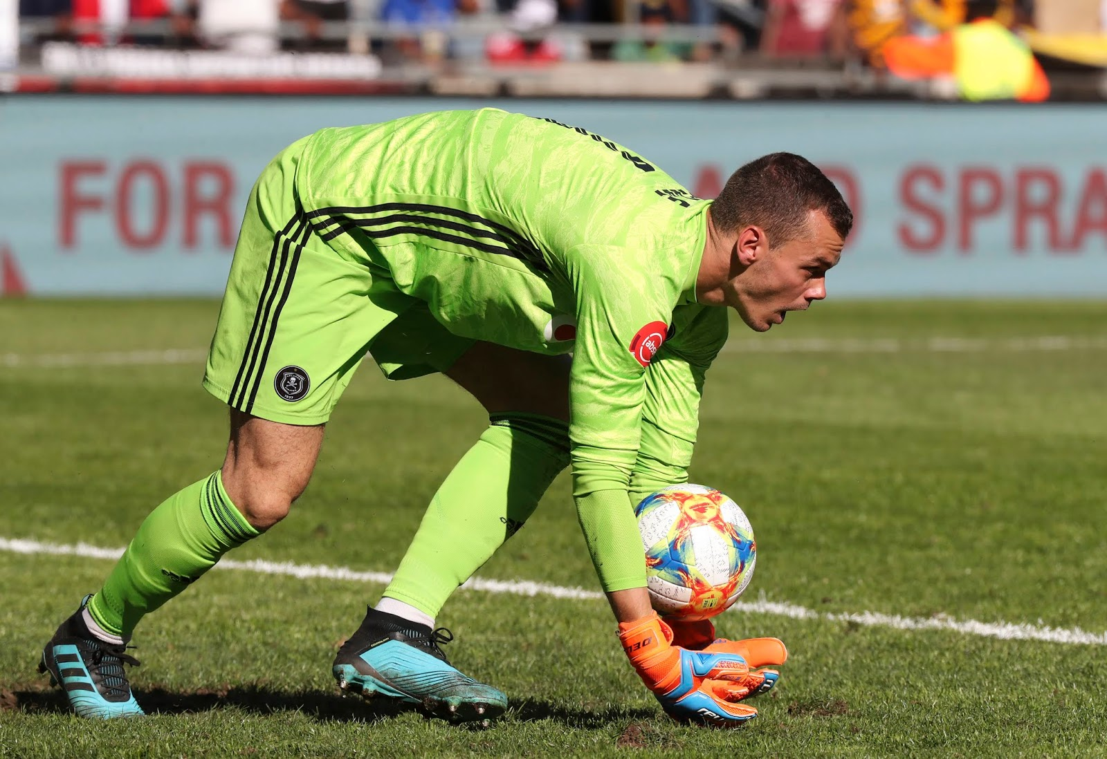 Orlando Pirates new goalkeeper Joris Delle