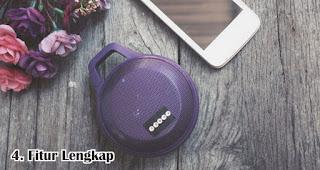 Pilih Speaker Dengan Fitur Lengkap merupakan tips memilih speaker bluetooth
