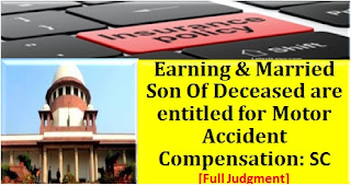 earning-married-major-sons-of-deceased-are-entitled-for-claim-mv-act