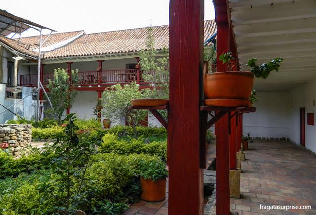 Claustro de São Francisco, Villa de Leyva, Colômbia