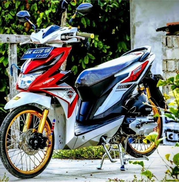 Modif Motor Beat Terbaik 2020 Dan Terkeren Di Indonesia Racing 48