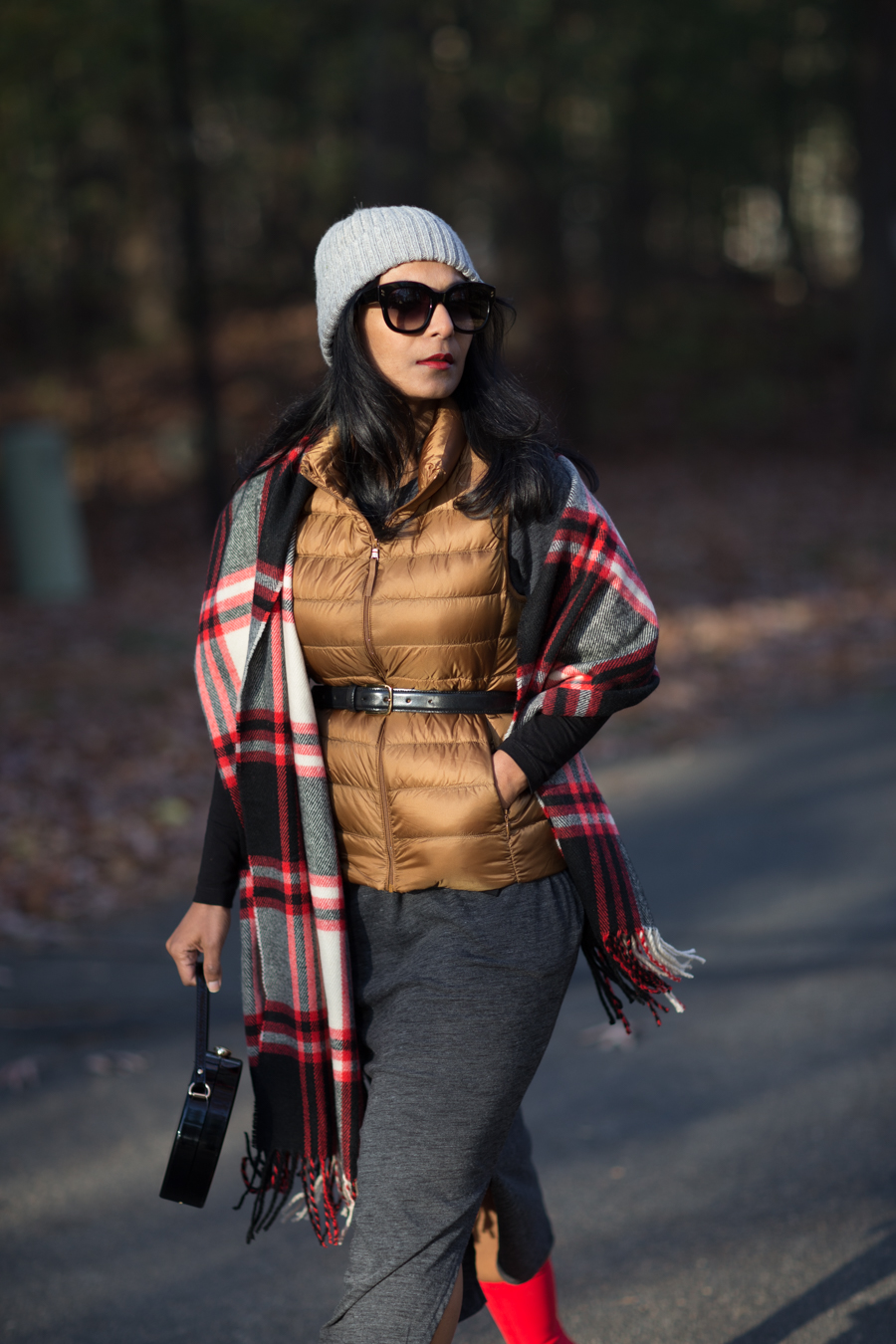 new england style, uniqlo, puffer vest, winter layers, layering tricks, style tips, style advice, petite fashion