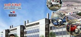 ITI Job Vacancy In Maruti Suzuki India Ltd Manesar and Gurgaon Plant For TW & Apprentice Position Apply Online