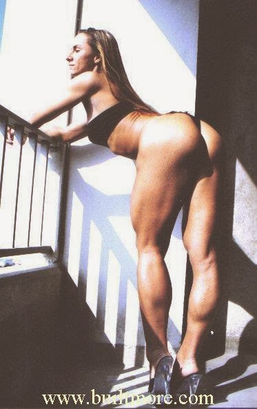 Muscular Calves Ladies