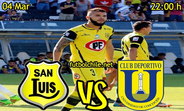 VER STREAM EN VIVO, ONLINE: San Luis vs Universidad de Concepción