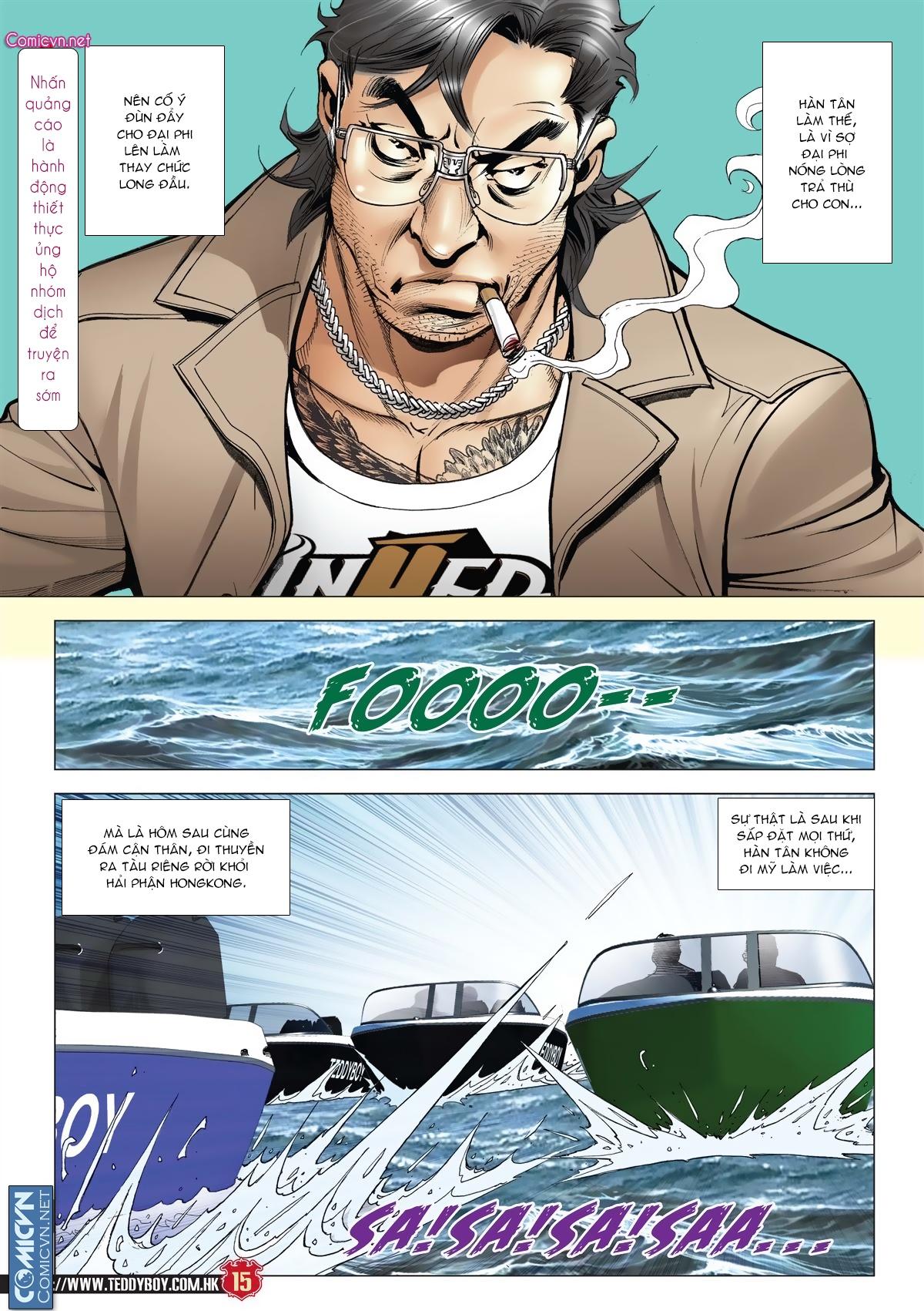 Người Trong Giang Hồ chapter 2011: hàn tân bỏ trốn trang 13