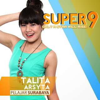 talita arsyta rising star indonesia super 9