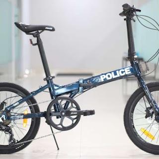 Review-Sepeda-Lipat-Murah-Keren-Police-Texas-L-Tahun-2021