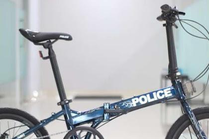 Review Sepeda Lipat Murah Keren Police Texas L Tahun 2021