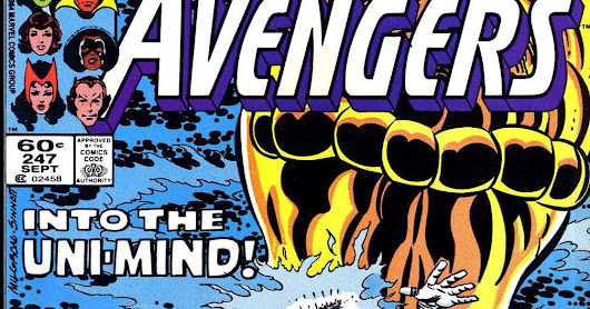 Marvel Comics of the 1980s: 1985: The Eros Avenger part IV: Eternally Yours!