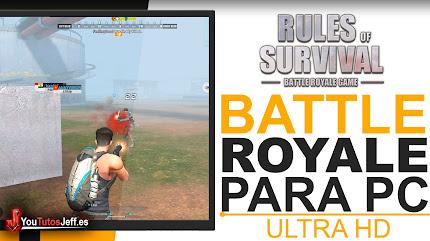 Descarga RULES OF SURVIVAL para PC Español