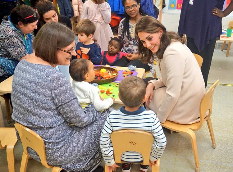 Kate Dusts Off the Goat Coat for Hornsey Road Children's ... Hornsey