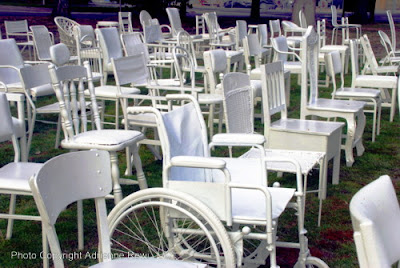 Adrienne Rewi Online 185 Empty Chairs Amp A Church