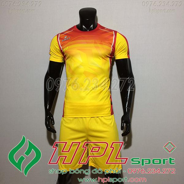 Áo Ko Logo Saka HKC Màu Vàng 2020