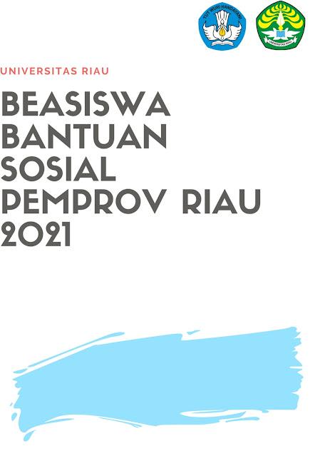 Ini Nih Syarat Lengkap Beasiswa Bantuan Sosial Pemprov Riau Tahun 2021, Buruan Daftar