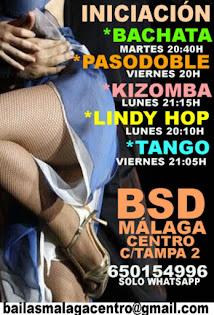 APRENDE A BAILAR EN BSD BAILAS SOCIAL DANCE MÁLAGA CENTRO .