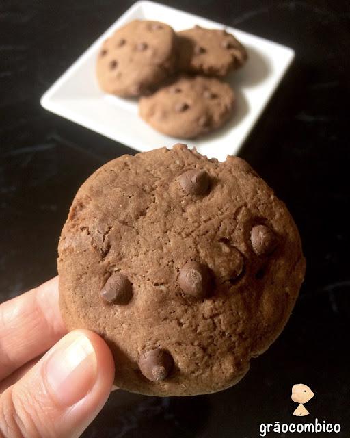 Cookies de chocolate vegano