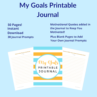Reach Your Goals, Printable Journal