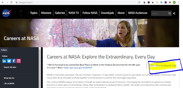 NASA में JOB कैसे पाये? पूरी जानकारी हिंदी में। jobearn.in