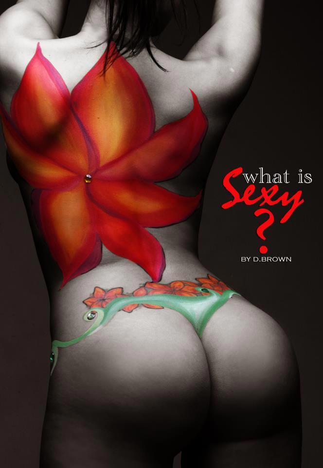 Kristal Solis Body Paint Session W/ D.Brown [PICS+VIDEO]
