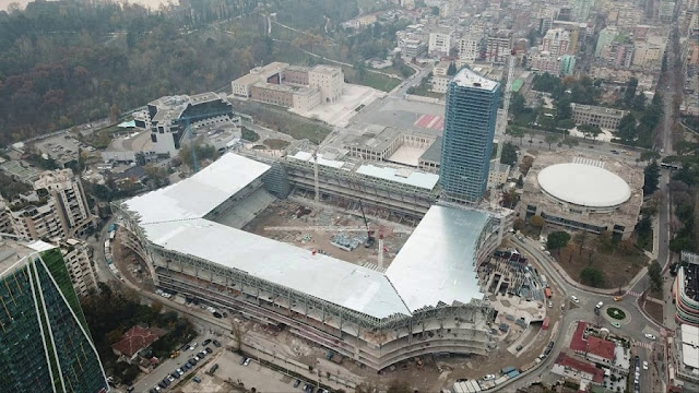 national arena stadium in tirana