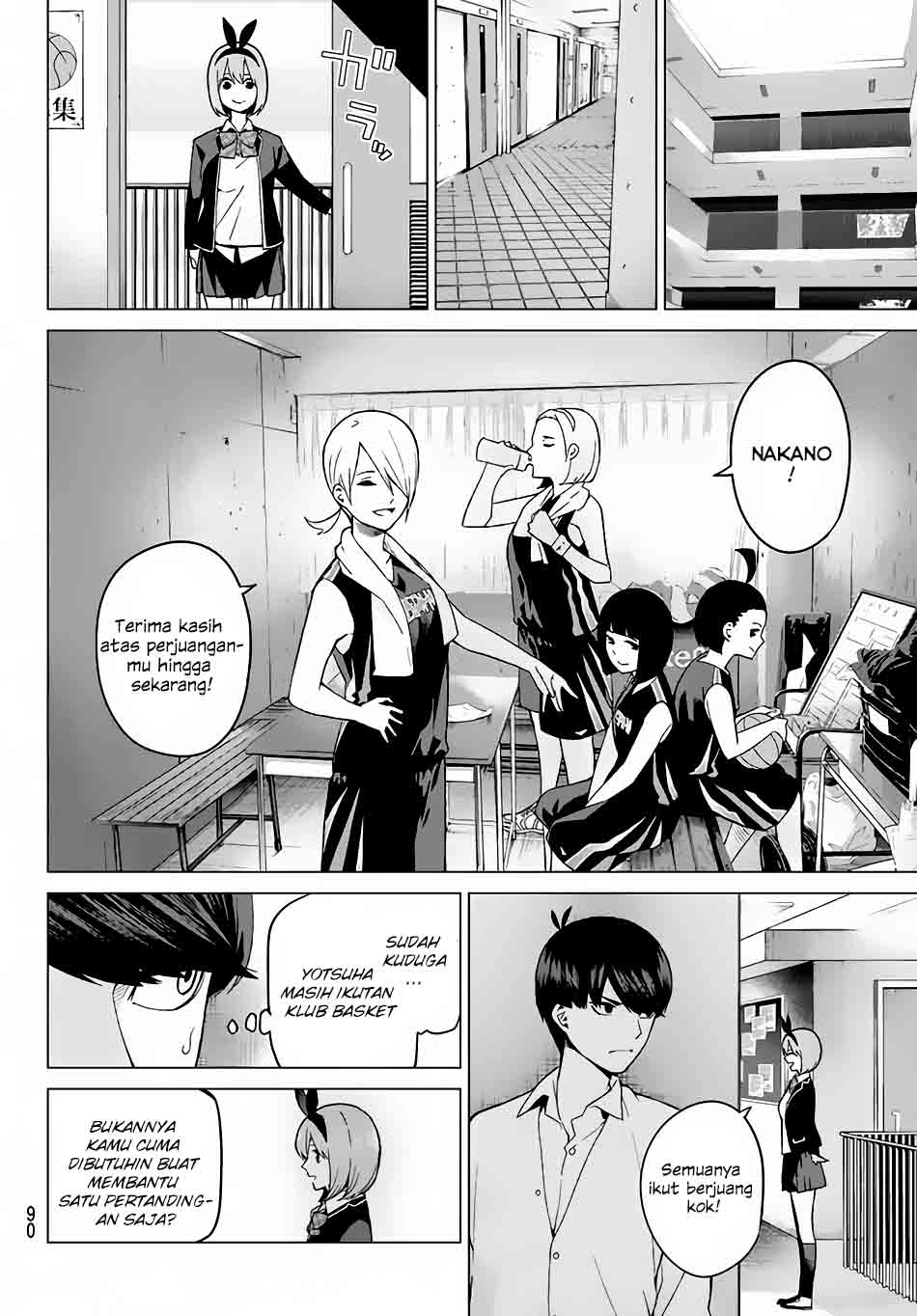 Manga Go-toubun No Hanayome Chapter 13 Bahasa Indonesia