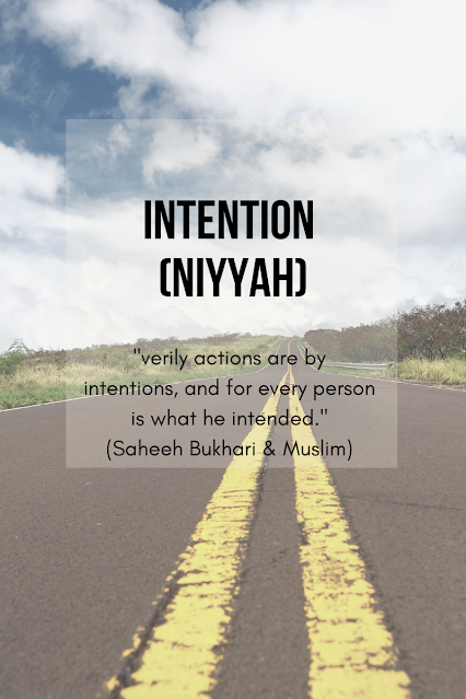 Intention (Niyyah)