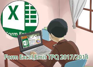 Form Excel Emis TPQ 2017/2018