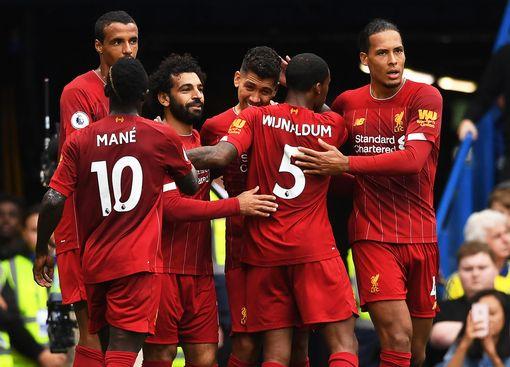 Hasil lengkap Liga Inggris Pekan Ke-6 : Liverpool Kokoh di Puncak Klasemen