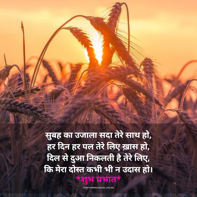 good morning shayari image