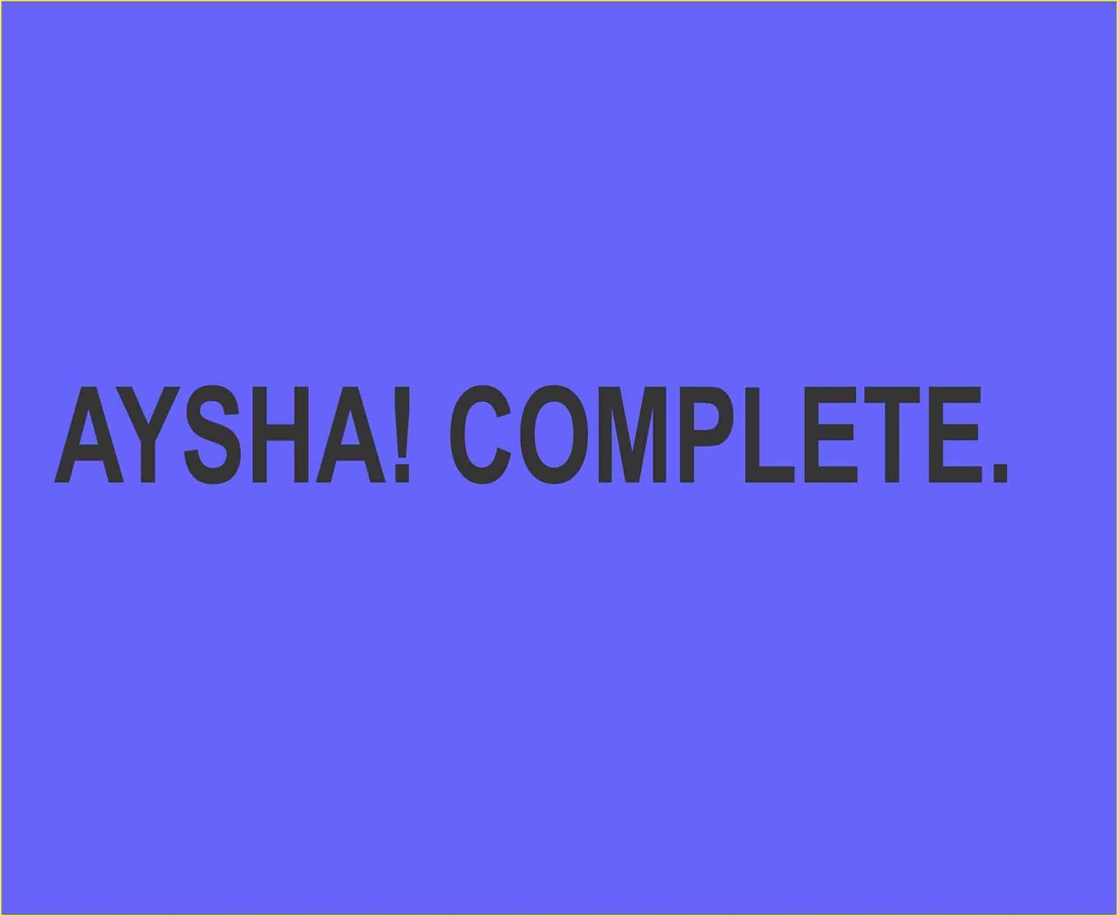 AYSHA! COMPLETE - Gidan Novels | Hausa Novels
