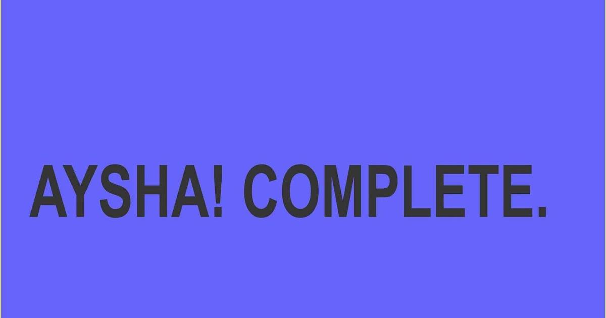 AYSHA! COMPLETE - Gidan Novels   Hausa Novels