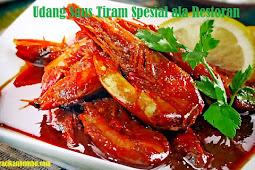 Resep cara memasak Udang Saus Tiram Spesial ala Restoran