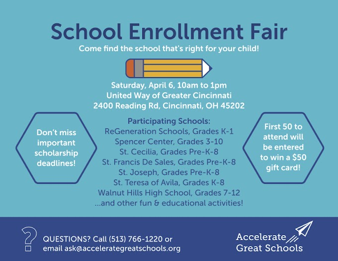 April 2019 School Enrollment Fair