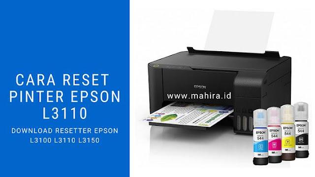 Cara Reset Epson L3110
