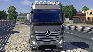 Mercedes Actros MP4 update 4.0