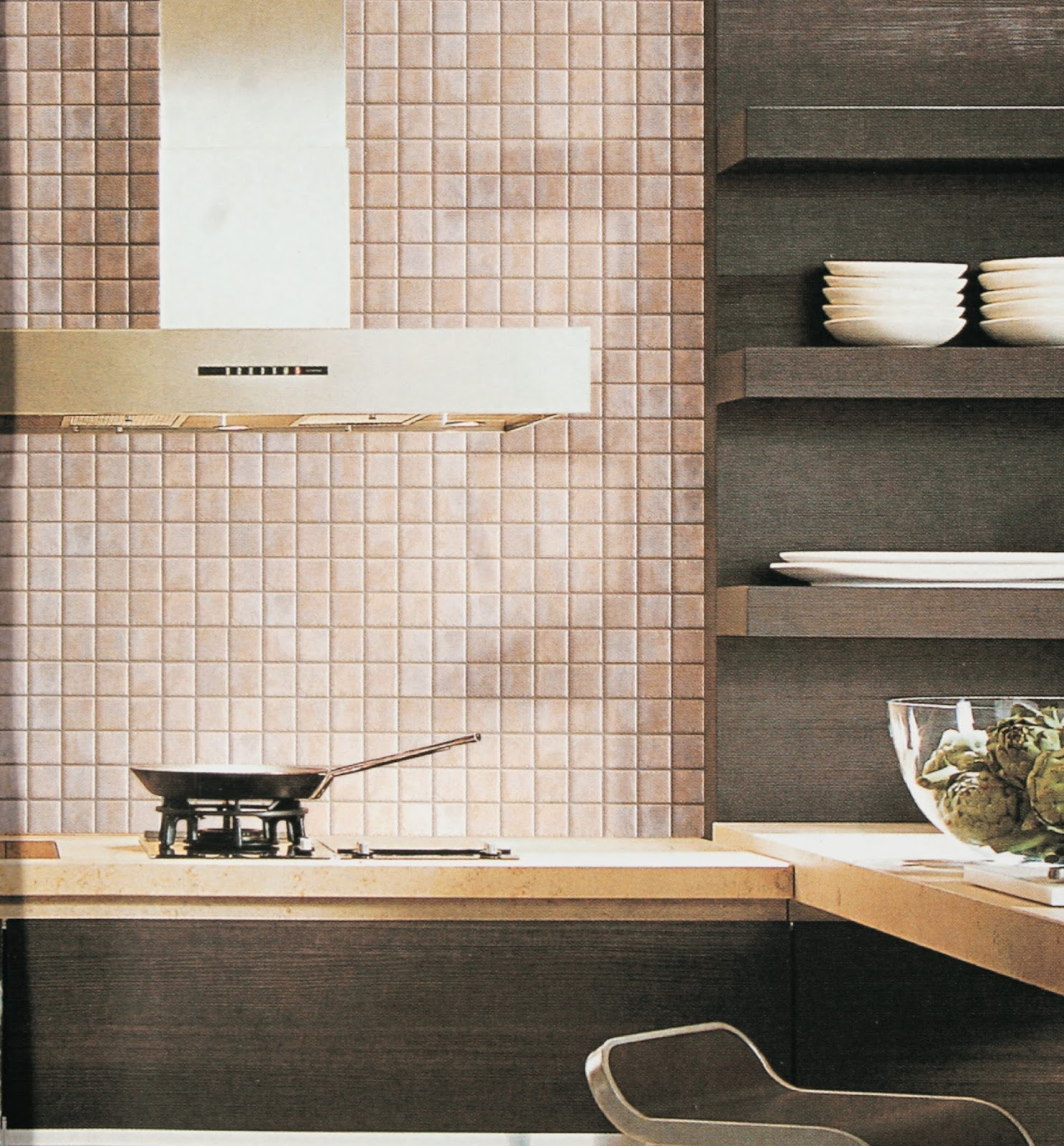 Mosaics the alternative to glass splashbacks in your kithcen - Splashback alternatives ...