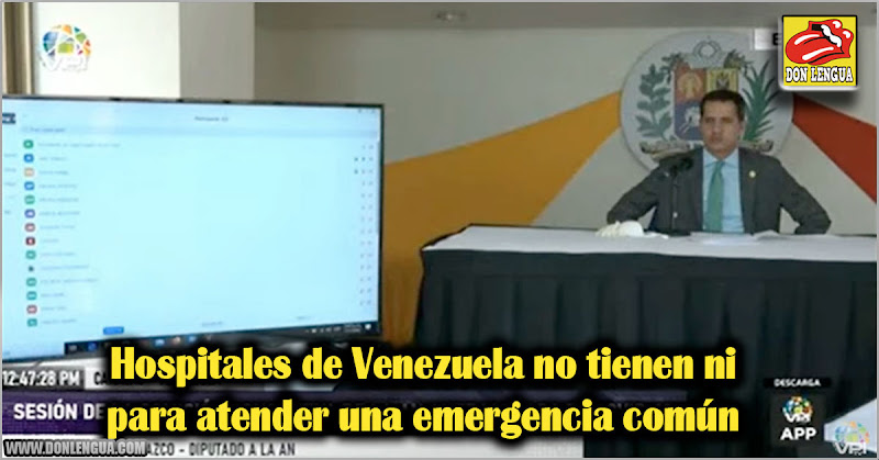 Hospitales de Venezuela no tienen ni para atender una emergencia común