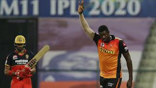 RCB vs SRH Eliminator IPL 2020 Highlights