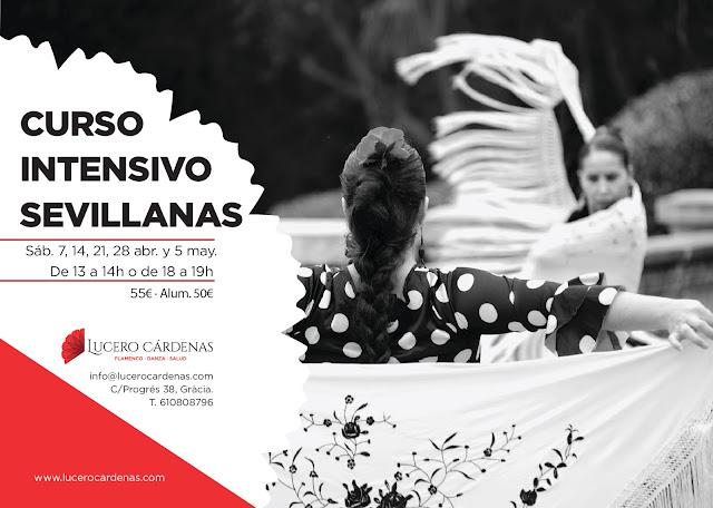 Sevillanas Flamenco Barcelona escuela clases