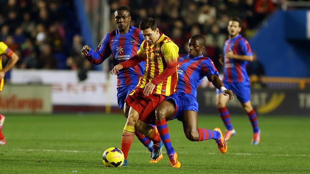 موعد مباراة برشلونة وليفانتي اليوم 7 يناير 2017 والقنوات الناقلة وأخبار الكاتالوني بالدوري الإسباني