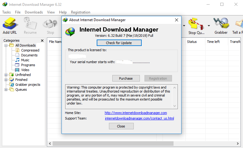 Internet Download Manager 6.32 Build 7