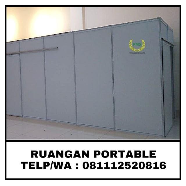 Sewa Fitting Room Acara | Medical Check Up Portable | Bogor 081112520816
