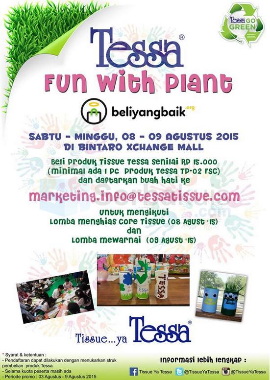 Lomba Menghias & Mewarnai Fun With Plant Tessa