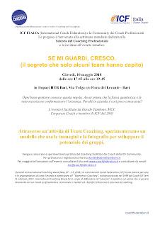 Vieni a conoscere il coaching professionale ICF